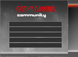 Goth Gaming community